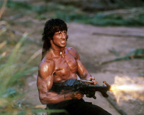 This is an image of Photograph & Poster of Sylvester Stallone 296659