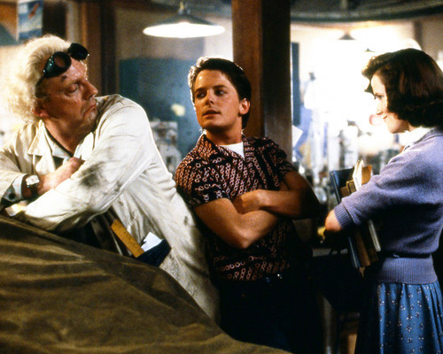 This is an image of Photograph & Poster of Back to the Future 296127