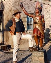This is an image of Photograph & Poster of John Wayne 297728
