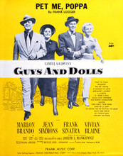 This is an image of Vintage Reproduction of Guys and Dolls 297291