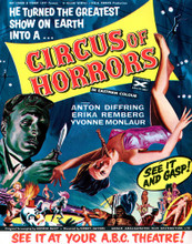 This is an image of Vintage Reproduction of Circus of Horrors 297368