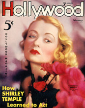 This is an image of Vintage Reproduction of Constance Bennett 297379