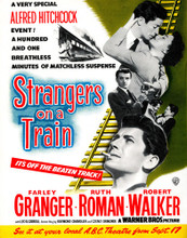 This is an image of Vintage Reproduction of Strangers on a Train 297384