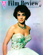 This is an image of Vintage Reproduction of Gina Lollobrigida 297398