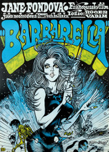 This is an image of Vintage Reproduction of Barbarella 295840