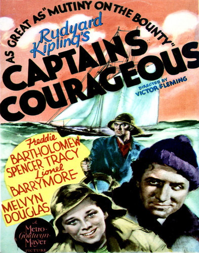 This is an image of Vintage Reproduction of Captains Courageous 296951