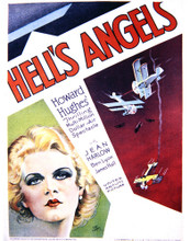 This is an image of Vintage Reproduction of Hell's Angels 296960
