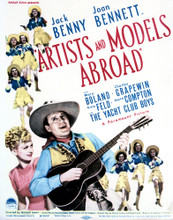 This is an image of Vintage Reproduction of Artists and Models Abroad 296972