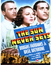 This is an image of Vintage Reproduction of The Sun Never Sets 296985