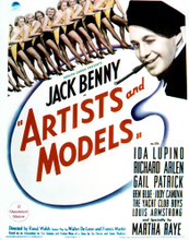 This is an image of Vintage Reproduction of Artists and Models 296989