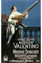 This is an image of Vintage Reproduction of Monsieur Beaucaire 294971