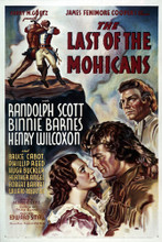 This is an image of Vintage Reproduction of The Last of the Mohicans 294999