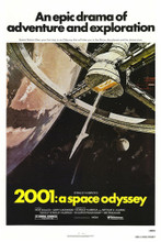 This is an image of Vintage Reproduction of 2001 a Space Odyssey 295107