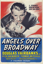 This is an image of Vintage Reproduction of Angels over Broadway 295129
