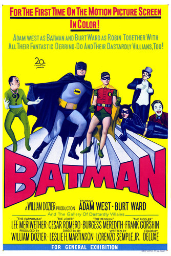 This is an image of Vintage Reproduction of Batman 295146