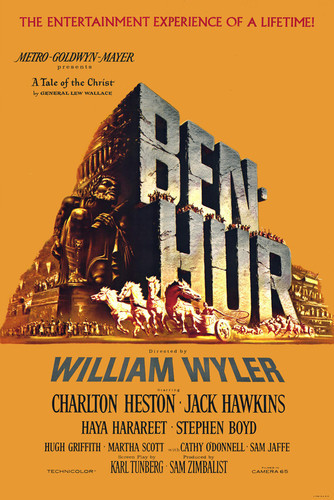 This is an image of Vintage Reproduction of Ben Hur 295151