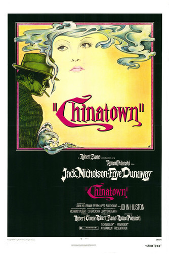 This is an image of Vintage Reproduction of Chinatown 295168