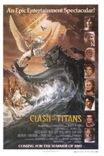 This is an image of Vintage Reproduction of Clash of the Titans 295175