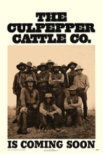 This is an image of Vintage Reproduction of The Culpepper Cattle Co. 295181