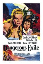 This is an image of Vintage Reproduction of Dangerous Exile 295188