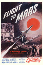 This is an image of Vintage Reproduction of Flight to Mars 295357