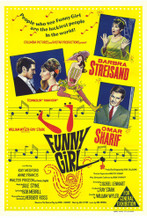 This is an image of Vintage Reproduction of Funny Girl 295366