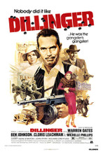 This is an image of Vintage Reproduction of Dillinger 295370