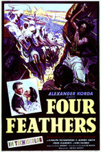 This is an image of Vintage Reproduction of The Four Feathers (1939) 295373