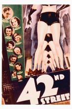This is an image of Vintage Reproduction of 42nd Street 295378