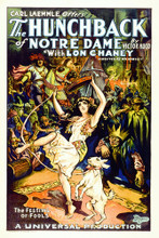 This is an image of Vintage Reproduction of Hunchbank of Notre Dame 295380