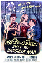 This is an image of Vintage Reproduction of Abbott and Costello Meet the Invisible Man 295387
