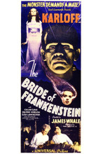 This is an image of Vintage Reproduction of Bride of Frankenstein 295393