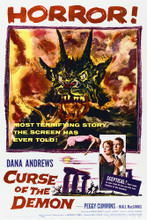 This is an image of Vintage Reproduction of Curse of the Demon 296880