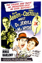 This is an image of Vintage Reproduction of Abbott & Costello Meet Dr Jekyll & Mr Hyde 296884