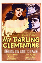 This is an image of Vintage Reproduction of My Darling Clementine 296888