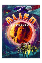 This is an image of Vintage Reproduction of Alien 296893