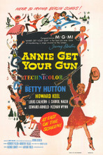 This is an image of Vintage Reproduction of Annie Get Your Gun 296898