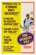 This is an image of Vintage Reproduction of The Ipcress File 295079