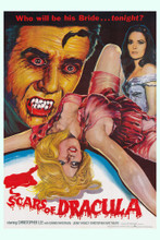 This is an image of Vintage Reproduction of Scars of Dracula 295092