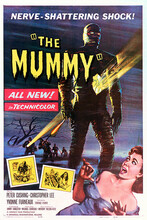 This is an image of Vintage Reproduction of The Mummy (1957) 295171
