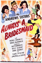 This is an image of Vintage Reproduction of Always a Bridesmaid 295190