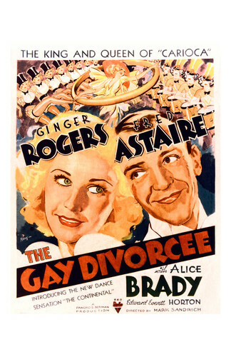 This is an image of Vintage Reproduction of The Gay Divorcee 295229