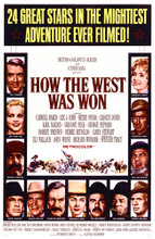 This is an image of Vintage Reproduction of How the West Was Won (1962) 295287