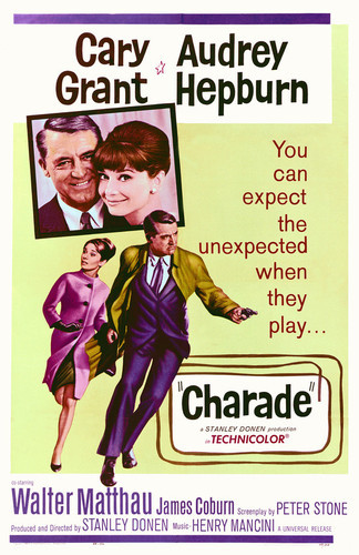 This is an image of Vintage Reproduction of Charade 295292
