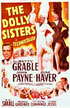This is an image of Vintage Reproduction of The Dolly Sisters 295297