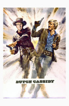 This is an image of Vintage Reproduction of Butch Cassidy and the Sundance Kid 295298