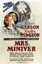 This is an image of Vintage Reproduction of Mrs. Miniver 295324