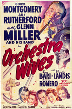 This is an image of Vintage Reproduction of Orchestra Wives 296476