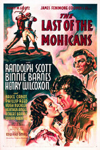 This is an image of Vintage Reproduction of The Last of the Mohicans 296487