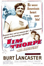 This is an image of Vintage Reproduction of Jim Thorpe-All American 296521